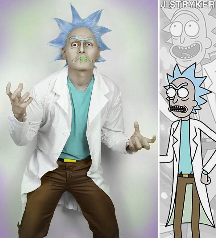 Rick From Rick & Morty