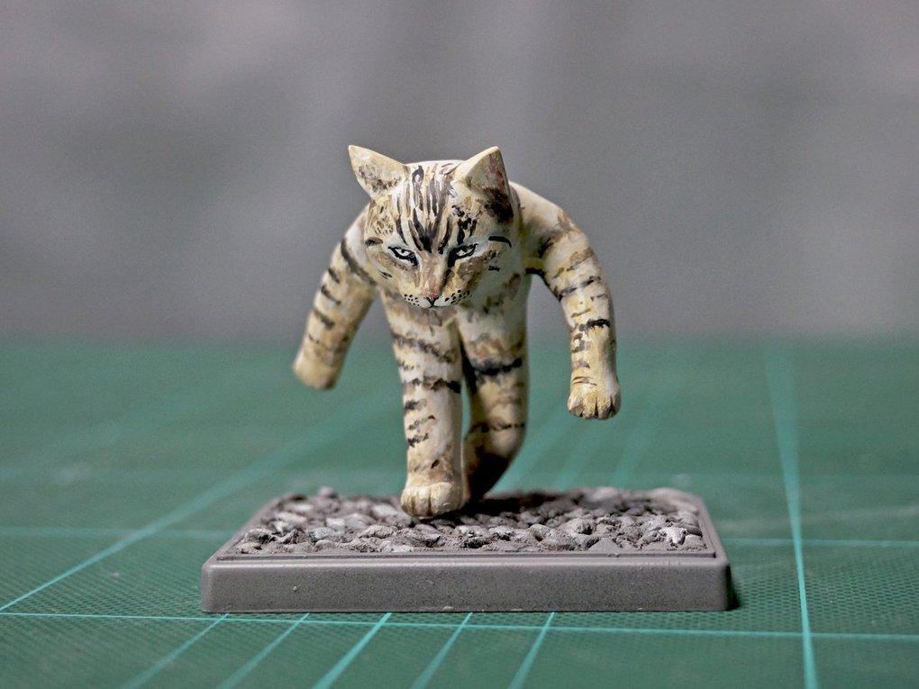 Японец превращает диковатые фотки котов в фигурки. Так как нормальные коты — прошлый век! 2