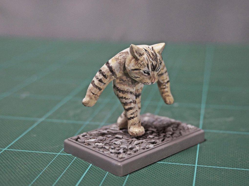 Японец превращает диковатые фотки котов в фигурки. Так как нормальные коты — прошлый век! 3