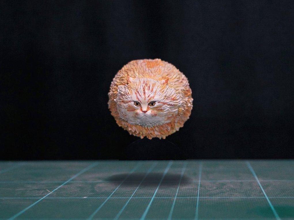 Японец превращает диковатые фотки котов в фигурки. Так как нормальные коты — прошлый век! 11