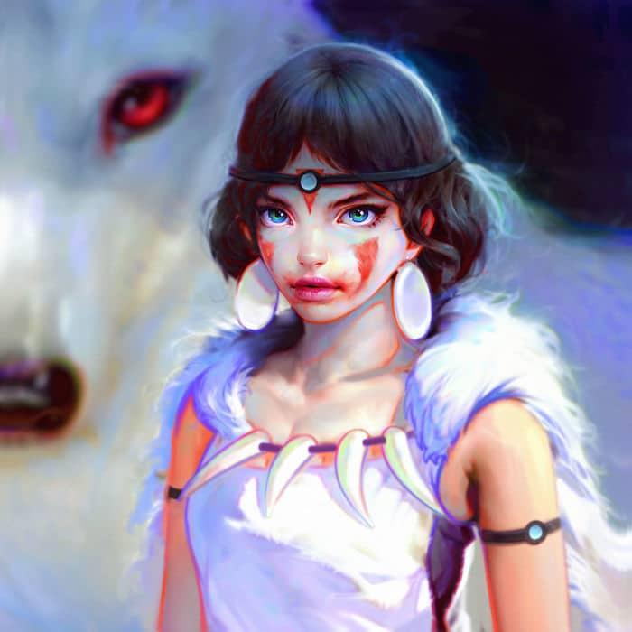 Фантастическая цифровая живопись Иракли Надар