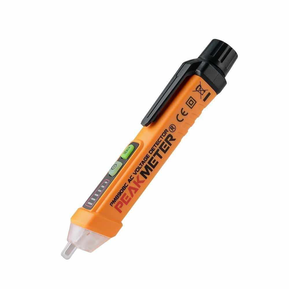 PM8908C 50-60Hz AC 12-1000V Non Contact Voltage Tester Pen Circuit Detector Electrical Tool-2