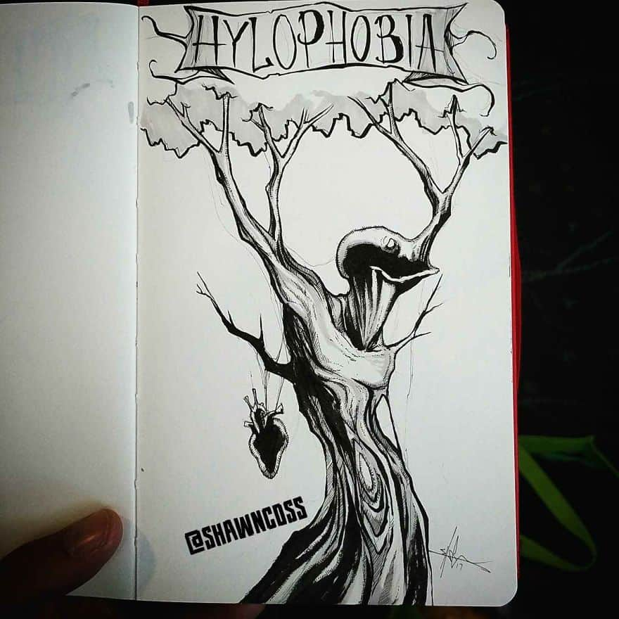 Hylophobia - The Fear Of Forests