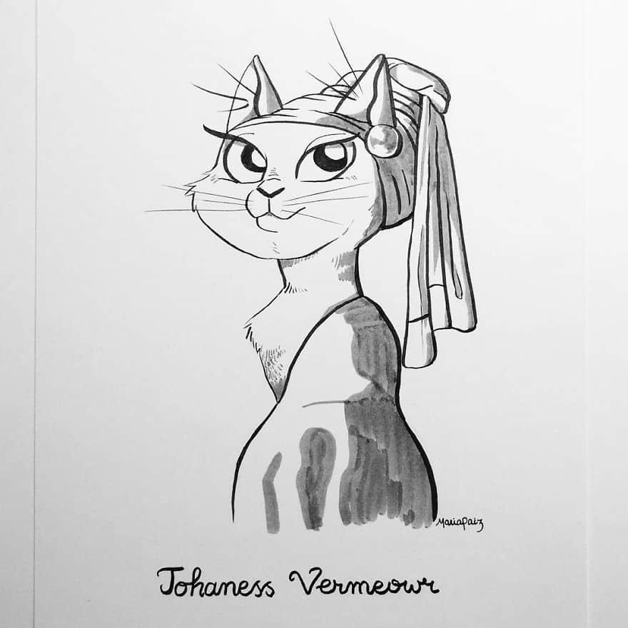 Johaness Vermeowr