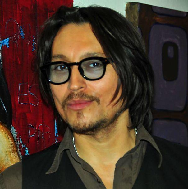 Swedish Johnny Depp. Aka Seba Alon