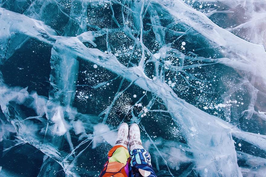 Fairy Lake Baikal In Siberia