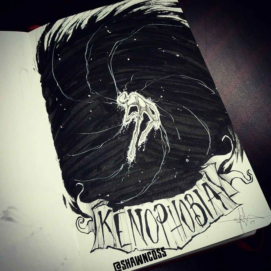 Kenophobia - A Fear Of Open Or Empty Spaces, Voids