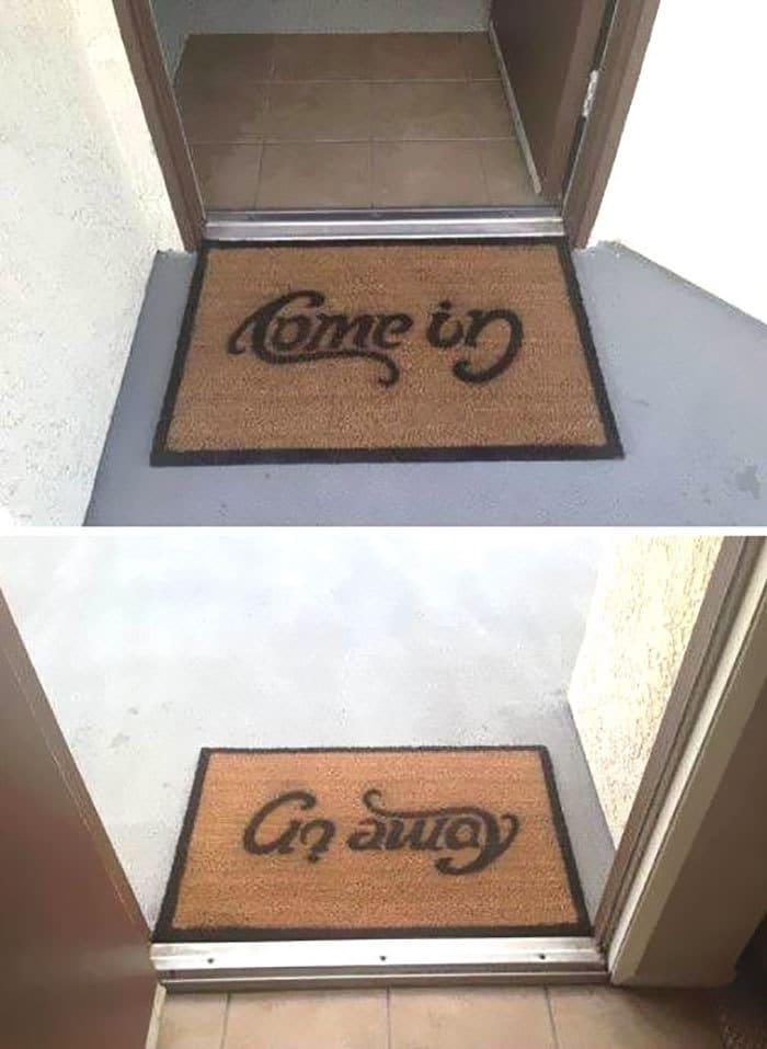 Amazing Door Mat Creativity...