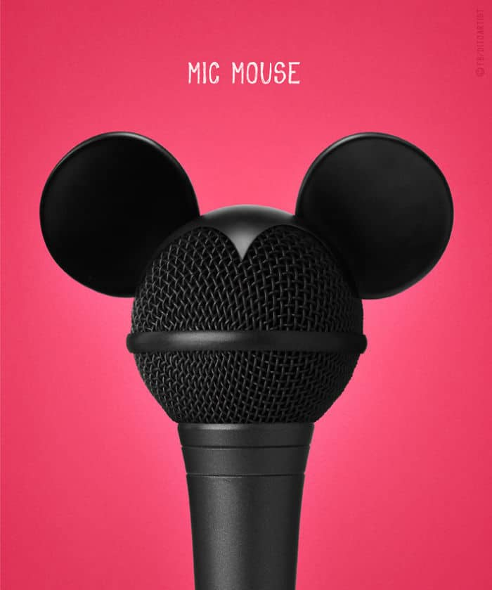 Mic Mouse