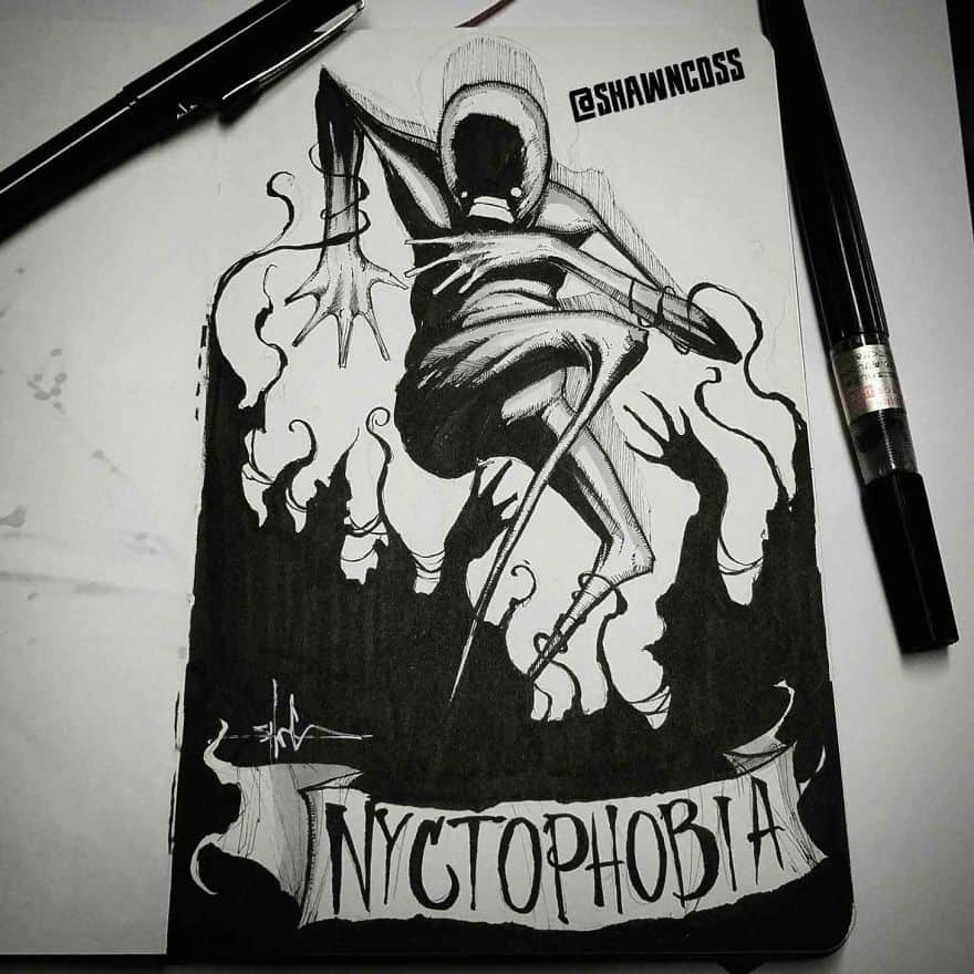 Nyctophobia - The Fear Of The Dark