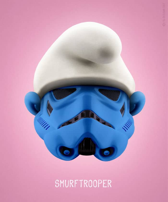 Smurftrooper