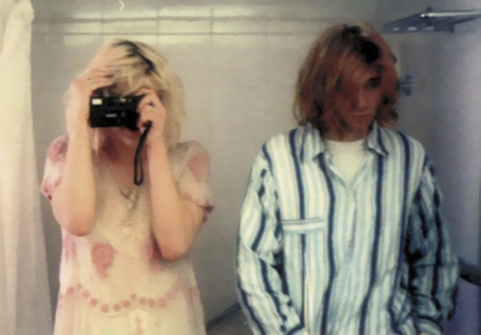 Courtney Love And Kurt Cobain, 1992