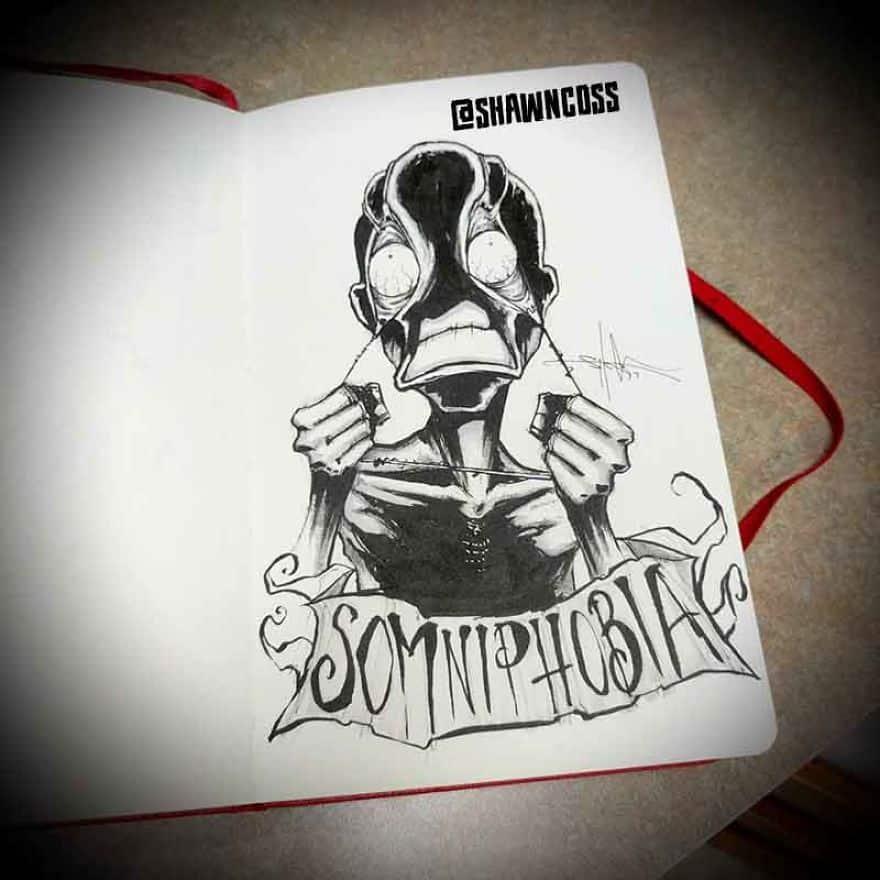 Somniphobia - The Fear Of Sleep