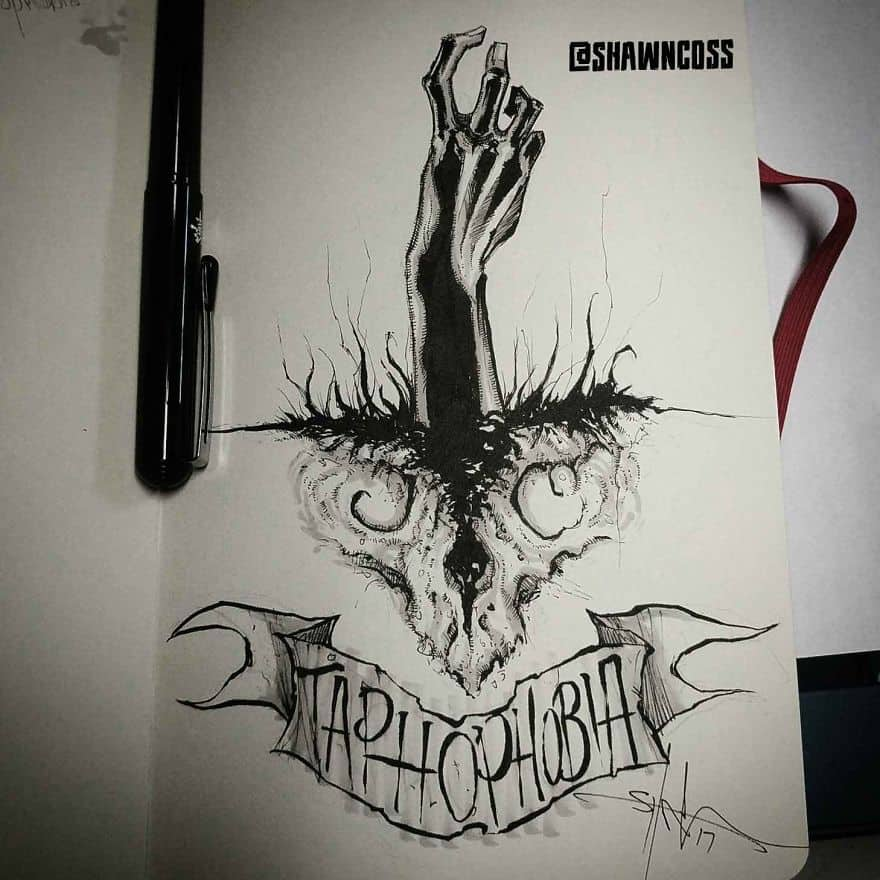 Taphophobia - The Fear Of Being Buried Alive