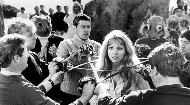 Editorial use only. No book cover usage.Mandatory Credit: Photo by Moviestore/REX/Shutterstock (1631998d) The Wicker Man (1973) Ingrid Pitt The Wicker Man -1973