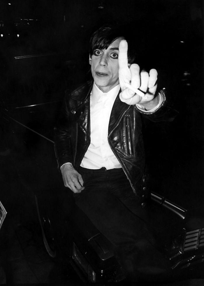 """Iggy """"No Photos"""" Pop, 1980"""