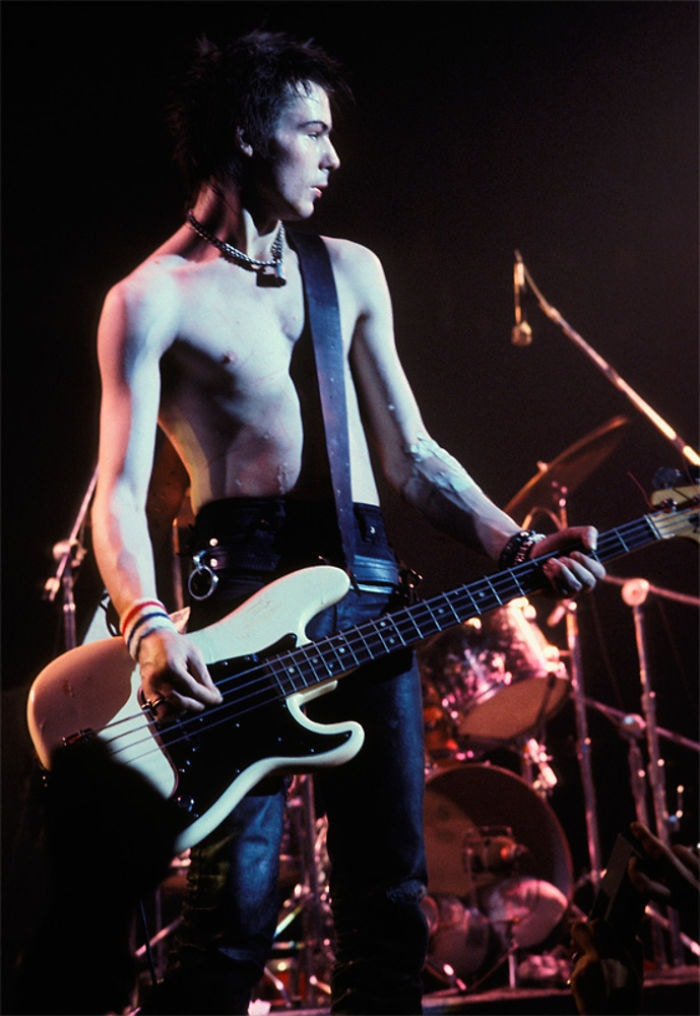 Sid Vicious, 1978