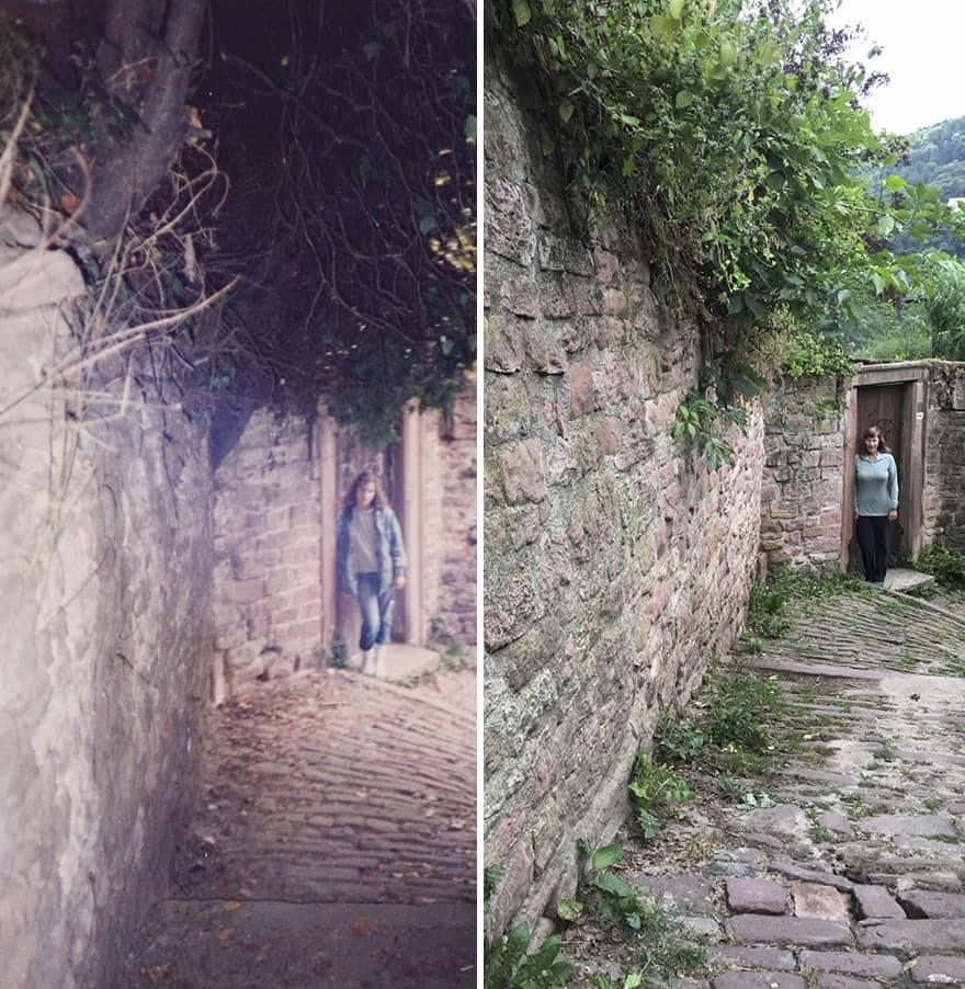 Thirty Years Later In Heidelberg, Germany