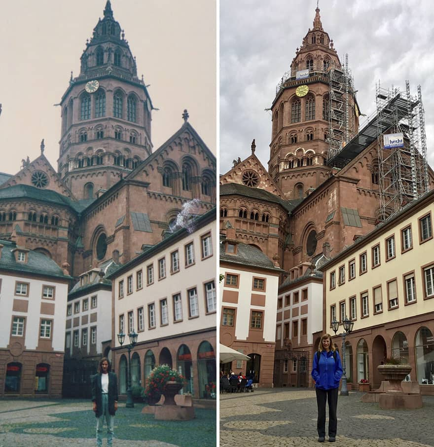 Thirty Years Later In Mainz, Germany