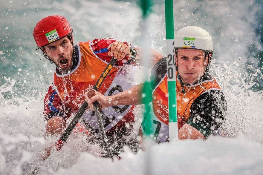 Canoe By Ian Macnicol (Remarkable Award In Sports In Action Category)