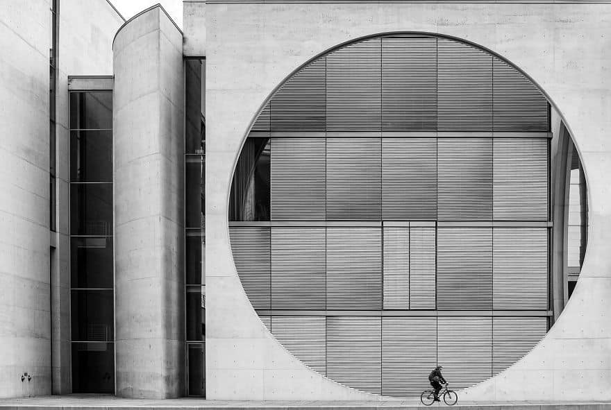 Berlin Biker By Wenpeng Lu (3rd In Architecture & Urban Spaces Category)