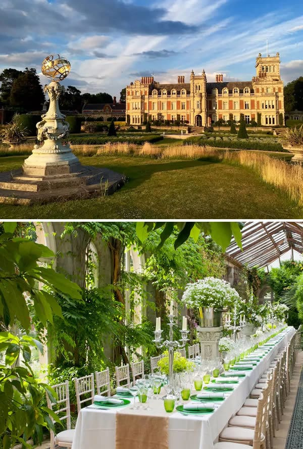 Somerleyton Hall (,480 per night)