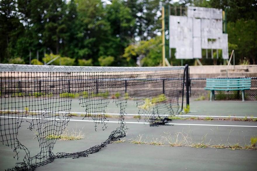 Теннисный корт, Атланта, 1996 Место проведения летних Олимпийских игр
