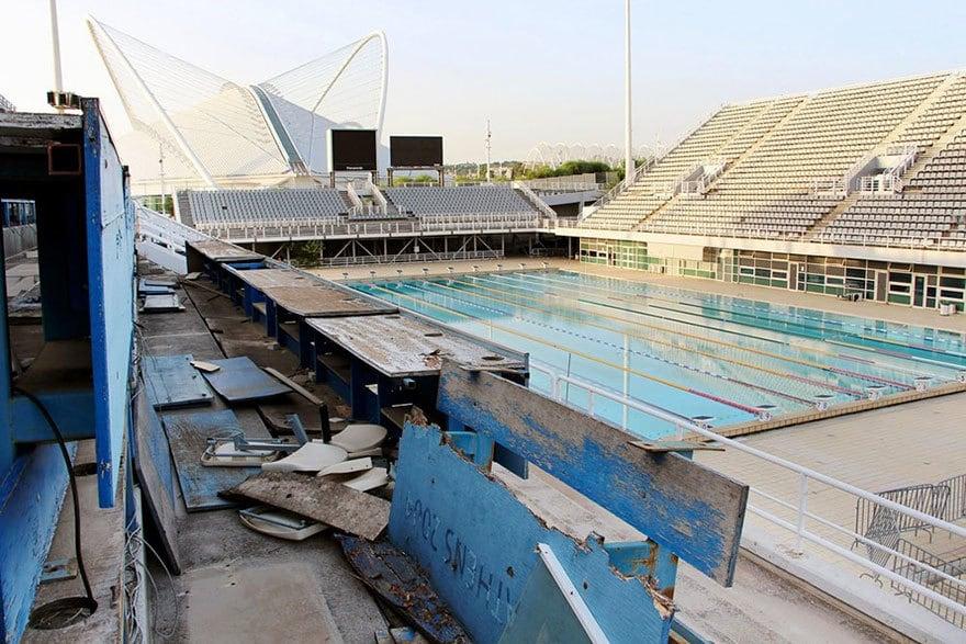 Главный бассейн, Афины, 2004 Место проведения летних Олимпийских игр