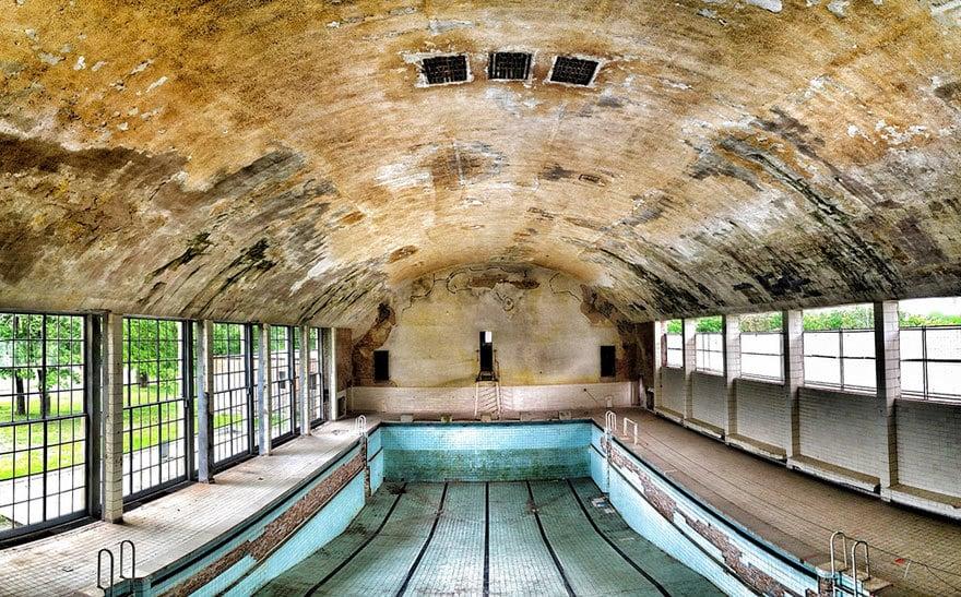Бассейн, Берлин, 1936 Место проведения летних Олимпийских игр