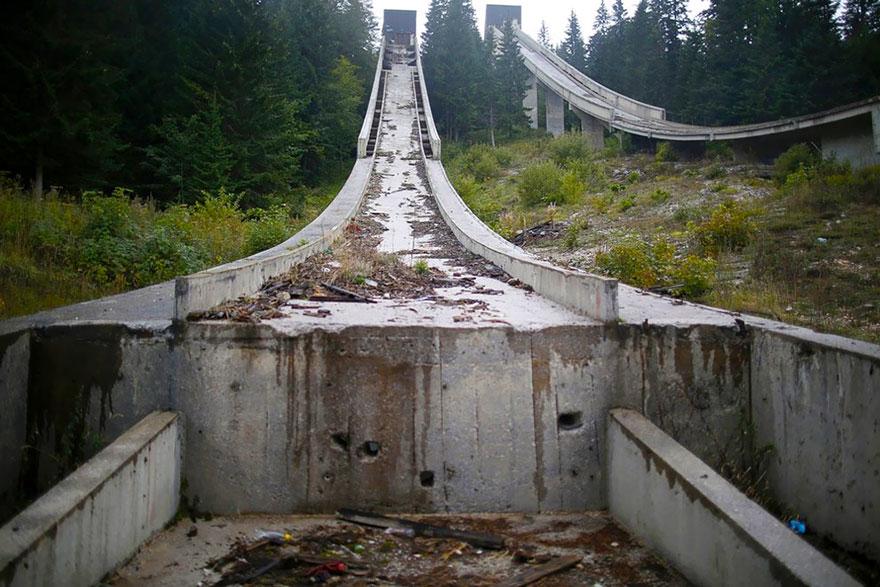 Трамплин, Сараево, 1984 Место проведения зимних Олимпийских игр