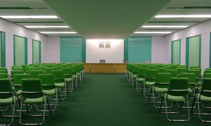Conference Room In North Korea