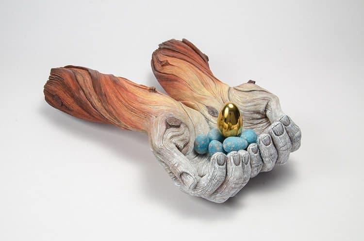 Tree-Bark Ceramics by Christopher David White