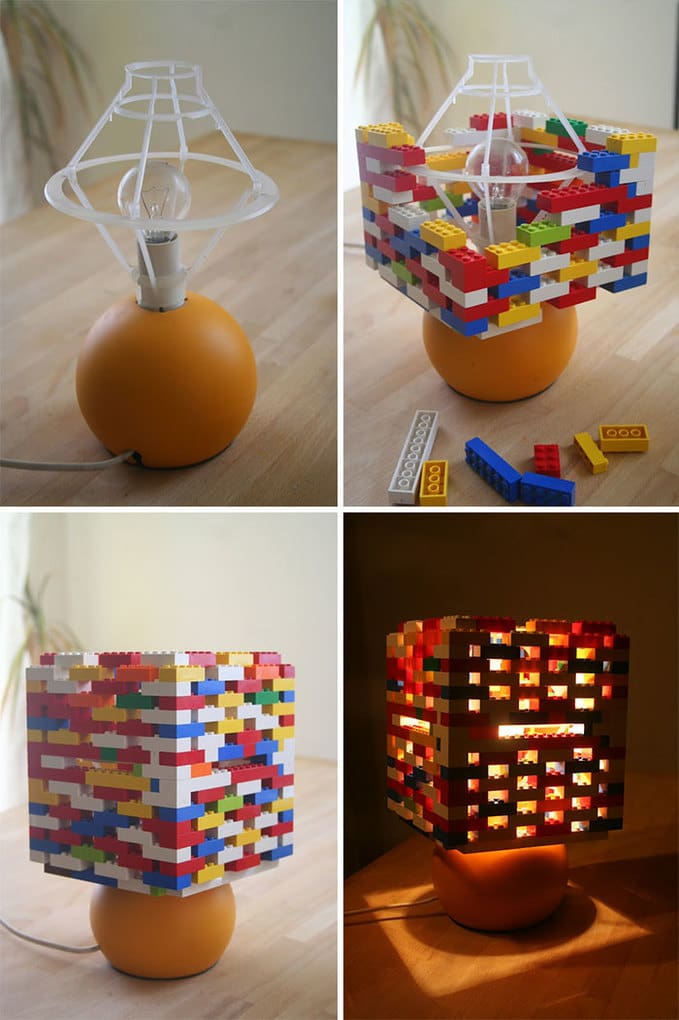 Lego Lampshade