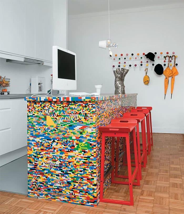 Lego Kitchen Decor