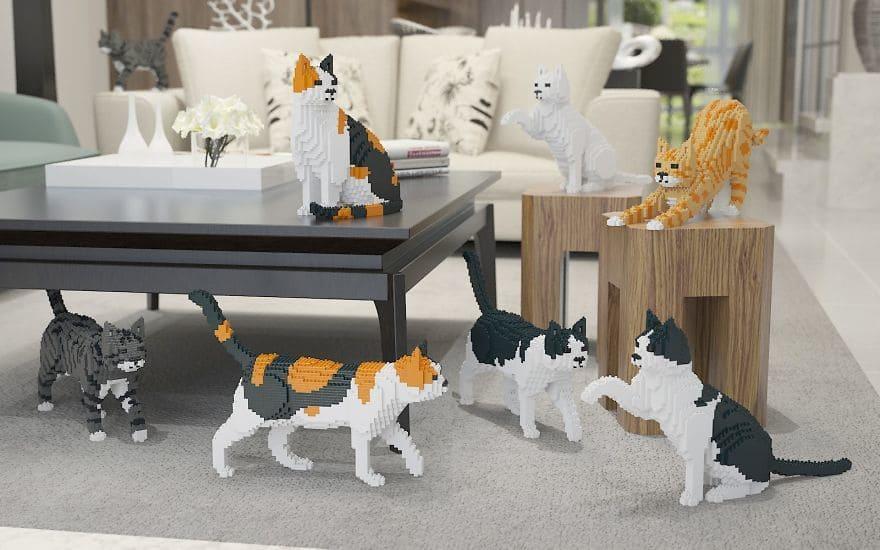 Animal Lego Sculpture