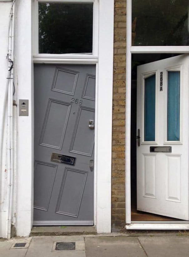 This Door In North London Makes Me Hideously Uncomfortable