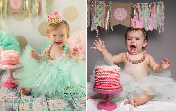 First Birthday. Nailed It