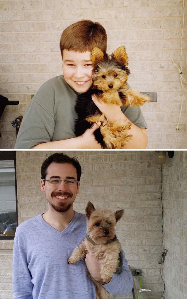 My Lifelong Companion And Friend, 2001 And 2014