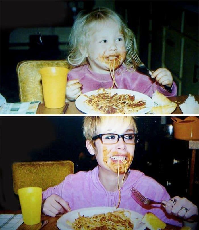 Любя Pasta Тогда и сейчас