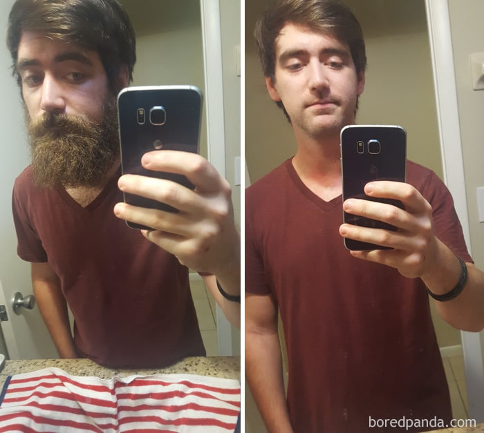 I Shaved My 9 Month Old Beard For Prostate Cancer Awareness
