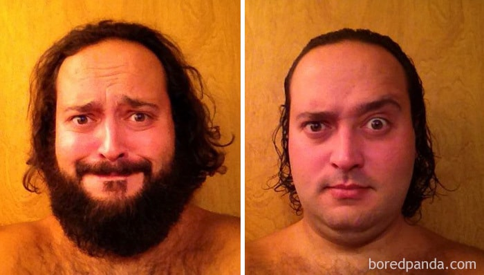 Had A Fun Shaving 5 Months Of Bearding
