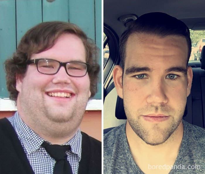 360 Lbs To 230 Lb In 24 Months. Face Gains!