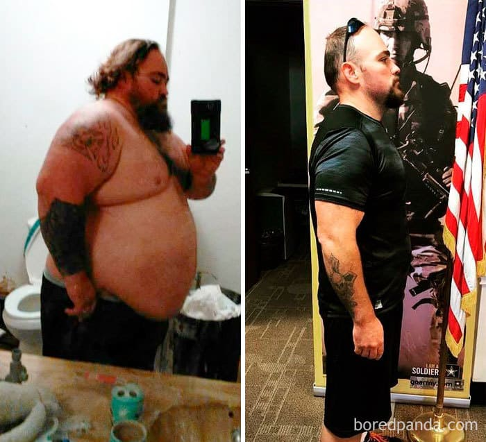 William Guinn Lost 230 Pounds In Order To Join The Army