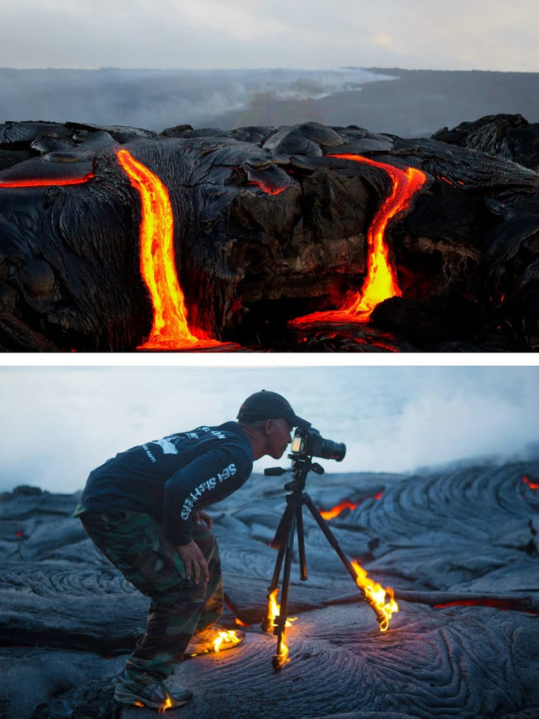 Burning Lava