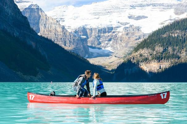 Предложив на прекрасном озере с потайной Фотограф Захватив It All