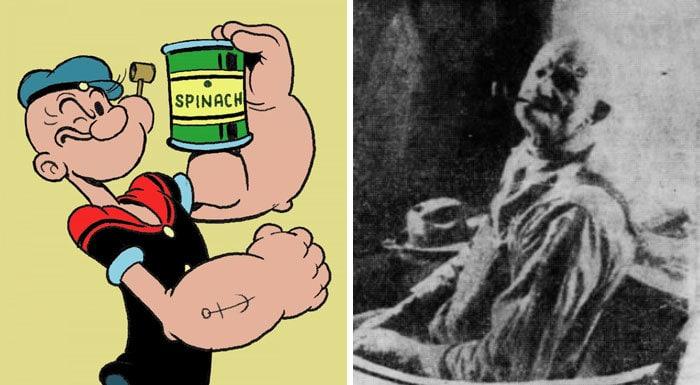 """Popeye (Frank """"Rocky"""" Fiegel)"""