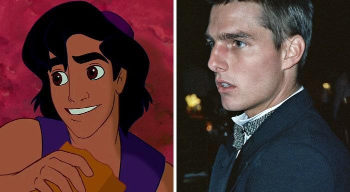 Aladdin (Tom Cruise)