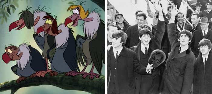 Vultures From The Jungle Book (The Beatles)
