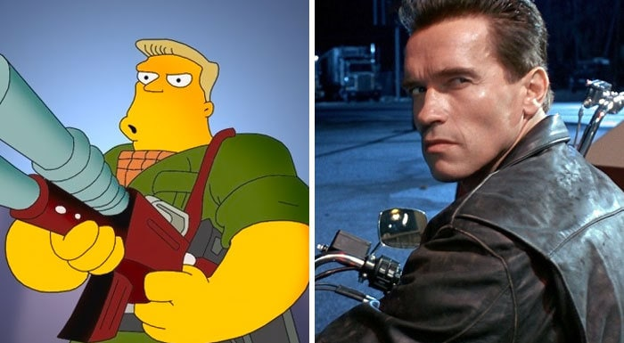 Rainier Wolfcastle From The Simpsons (Arnold Schwarzenegger)