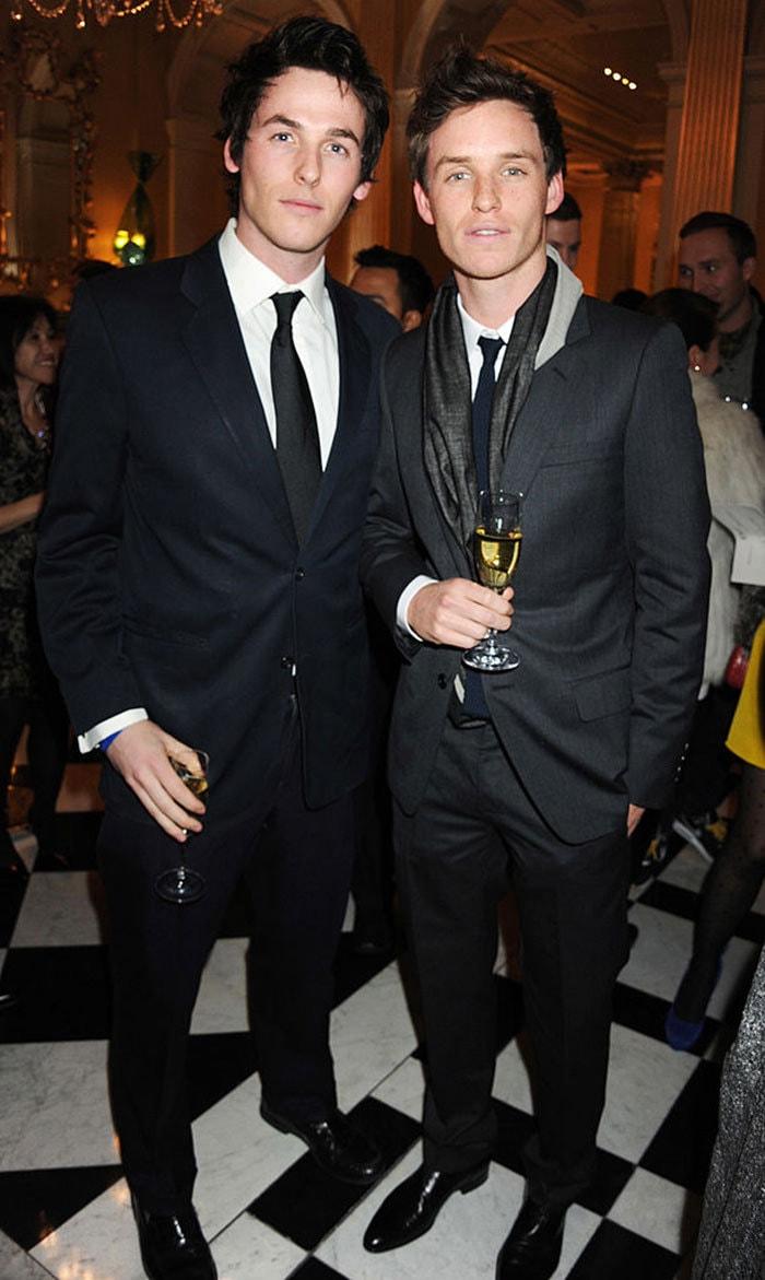 Эдди Редмейн со своим младшим братом Томом